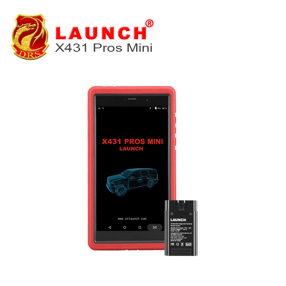 Auto Diagnosis Tool Launch X431 Pros mini With 6.8 Tablet PC Support WiFi/Bluetooth Full Systems Free 2 Year Online Update