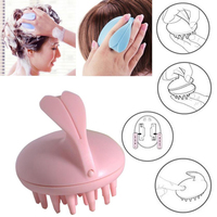 High Quality New Electric Hair Comb Waterproof Scalp Massage Hairbrush Vibrating Silicone Comb Massager Electric Hair Brush Health & Beauty
