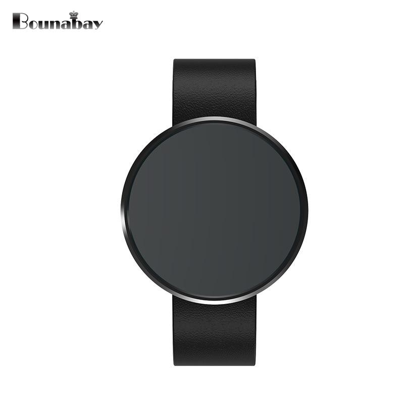 Bounabay Smart Bluetooth impermeable hombres relojes hombre original deportes hombres marca de calidad para Apple Android IOS reloj 3G reloj
