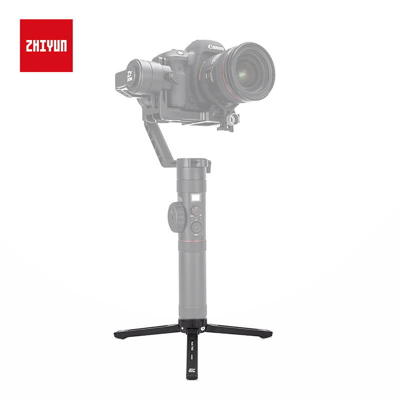 ZHIYUN Official Tripod Monopod TRM02 for Crane 2/M/V2/Plus/Smooth 3/Q Gimbal Handheld Stabilizer Accessories with 1/4 Inch Screw-in Gimbal Accessories from Consumer Electronics