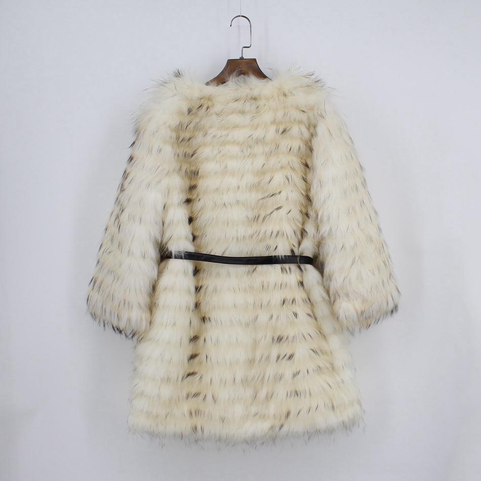 genuine raccoon fur coat (6)