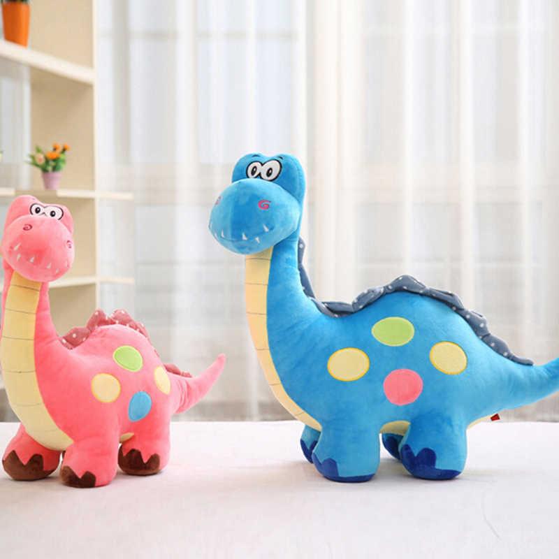 1 قطعة وسادة ديناصور قطيفة ملونة وسادة محشوة لعب ديناصور قطيفة دمى هدايا الأطفال هدايا عيد الميلاد 30 سنتيمتر