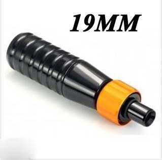 1PCS 3/4 19mm Black Grip Lightweight Aluminum Alloy Tattoo Handle Grips 19mm For Tatoo Body Art Free Shipping TG-413A
