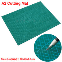 A2 PVC 더블 인쇄 자기 치유 커팅 매트 공예 퀼트 Scrapbooking 보드 60*45cm 패치 워크 패브릭 종이 공예 도구