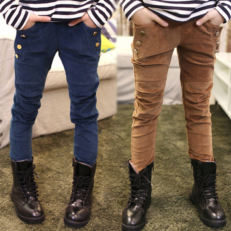 Casual Corduroy Pants