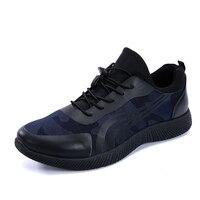 2016 Canvas Shoes Men Shoe Spring New Zapatos Hombre Mens Fashion Daily Zapatos Casual Man Lace