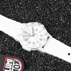 Image 2 - Luminox watch men Military Men Watch Leather Sport Quartz Clock Mens Watches top brand luxury Waterproof Relogio Masculino