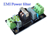 Power filter plates EMI filter 1PCS EMI 4A Power Filter Board Socket For Pre Amp Amplifier