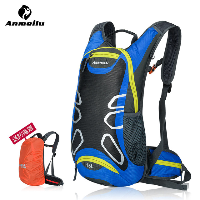 ANMEILU Brand Outdoor Bicycle Hiking Backpack Waterproof MTB Road Mountain Bike Water Bags Climbing Cycling Basket Backpacks