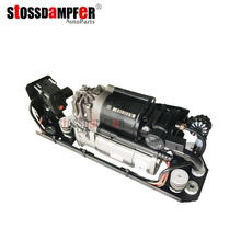StOSSDaMPFer Air Suspension Compressor With Valve Bracket Fit BMW F01 F02 F04 750Li 760Li 37206789450