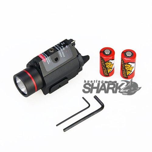 m6r hs15 0096 luz arma com laser vermelho para caca rifle 05