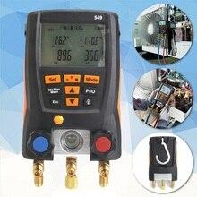 Refrigeration Testo 549 Digital Manifold HVAC Gauge System Kit Meter 0560 0550 поверхностный минитермометр testo 0560 1109