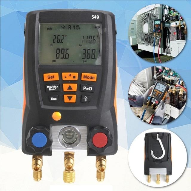 Refrigeration Testo 549 Digital Manifold Hvac Gauge System