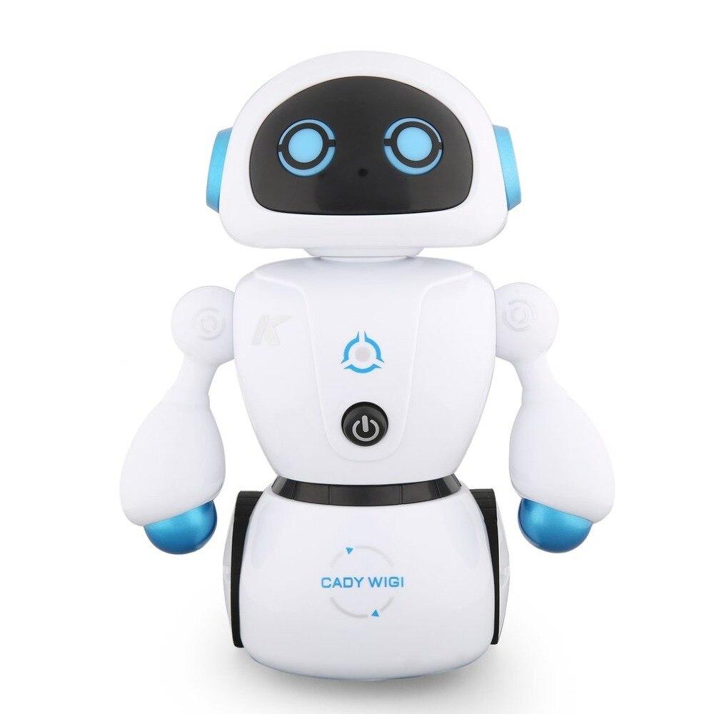 JJR/C R6 CADY WIGI Intelligente RC Robot Musique De Danse Smart RC Robot Jouet Programmable Ligne-suivants Labyrinthe -résoudre Kid Jouet Cadeau