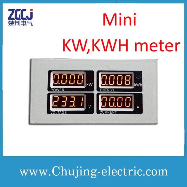 Digital Mini Kw Kwh Meter V A Energy