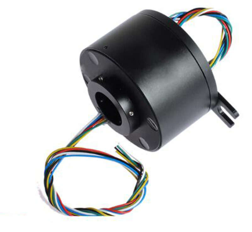 1pcs Integrated Hollow Shaft Slip Ring Hole Diameter 25.4mm External Diameter 86mm 6/12/18 Channel M Slipring For RC Hobby