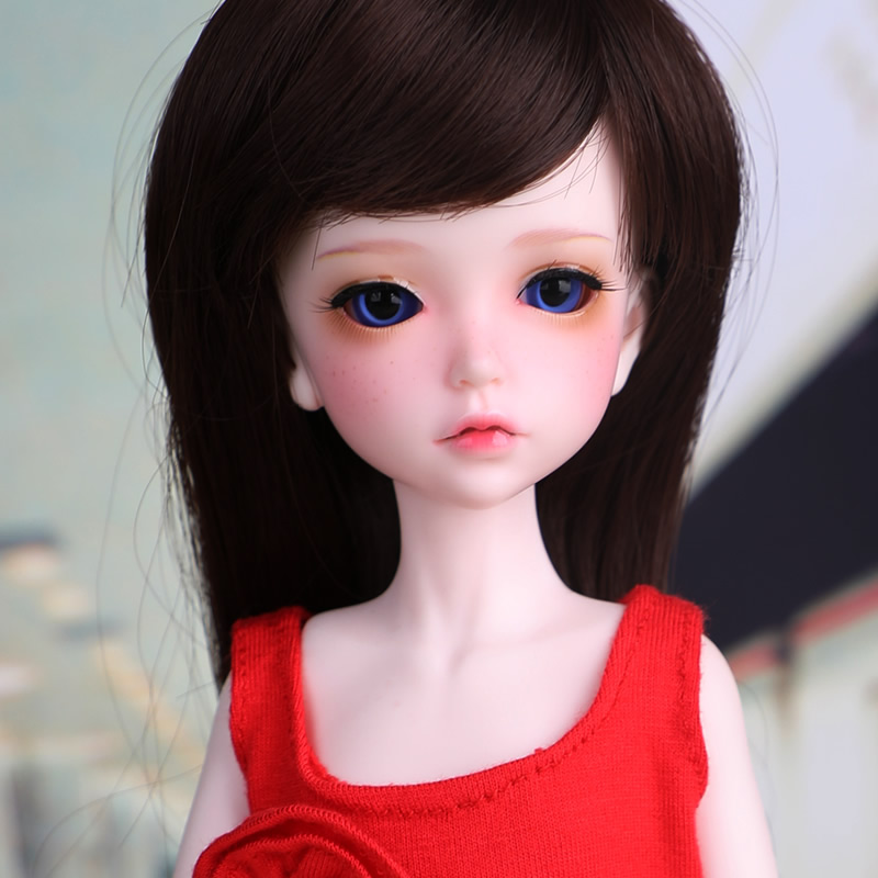 1 6 BJD resin doll Lonnie fashion girl Free eyes