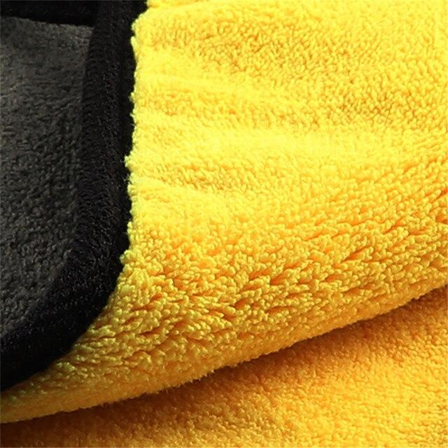 Mling 30x3 0/60CM Car Wash Asciugamano In Microfibra Per La Pulizia Auto di Secchezza del Panno Orlare Cura Dell'auto Panno Detailing Lavaggio Auto asciugamano Per La Toyota 5
