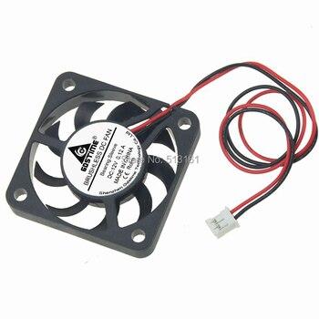 5Pcs Gdstime 12V Fan 40mm 40x40x7mm 2Pin Computer PC Heatsink Cooler Cooling Fans 5pcs gdstime 50mm 50x50x15mm fan 5015 dc 24v cooling fan 2pin 5cm pc laptop computer industrial cooler fan heatsink fans