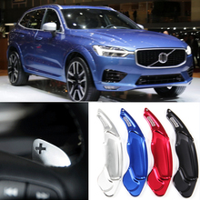 tommia For Volvo XC60 2015-2017 2pcs Steering Wheel Aluminum Shift Paddle Shifter Extension Car-styling все цены
