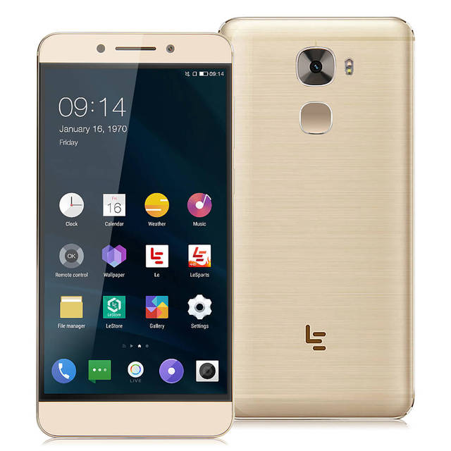 Пусть v LeEco Le Pro3/X720 4 ГБ RAM 64 ГБ ROM 5.5 дюймов Android 6.0 OS 4 Г LTE Смартфон 64-бит Qualcomm Snapdragon 821 Quad Core Телефон