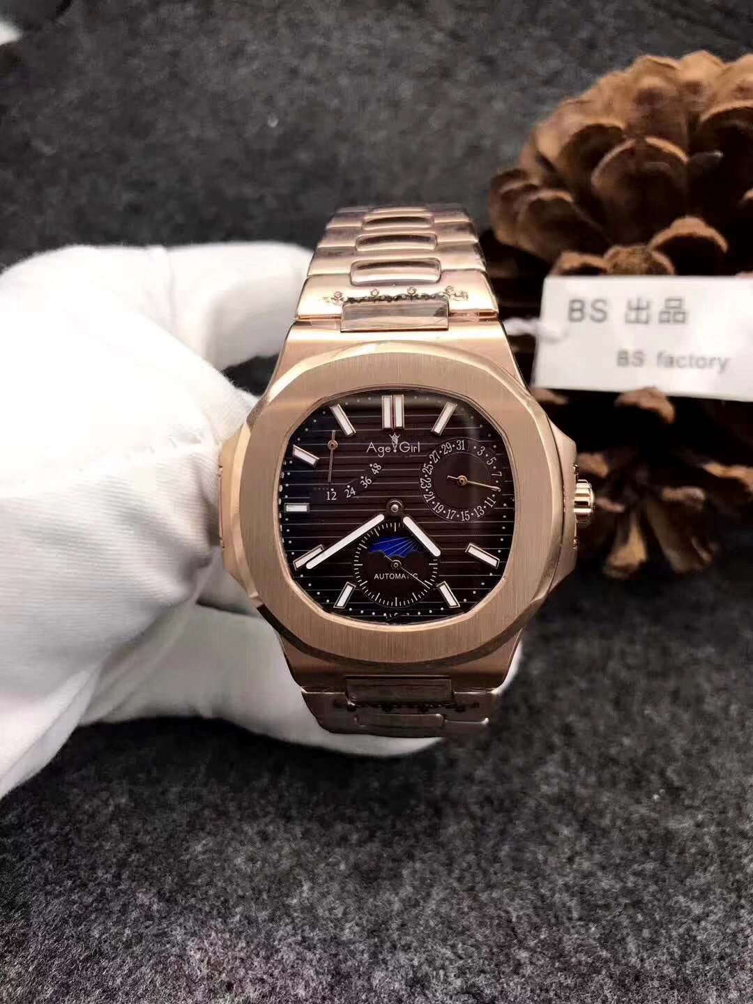 Luxury Brand New Automatic Mechanical Men Watch Sapphire Rose Gold Transparent Glass MoonPhase Watches Black Blue AAA+ MilitaryLuxury Brand New Automatic Mechanical Men Watch Sapphire Rose Gold Transparent Glass MoonPhase Watches Black Blue AAA+ Military