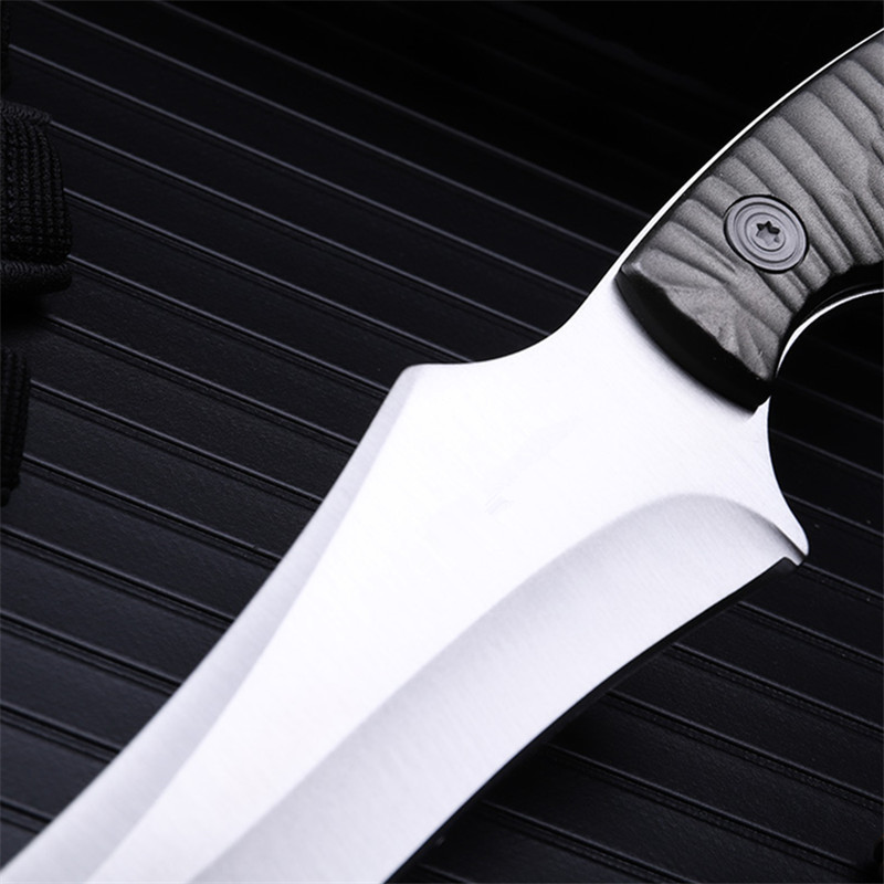 2018 New Free Shipping Outdoor Fixed Tactical Knife Wilderness Self defense Camping Survival Sharp Fruit Army Knives EDC Tools in Knives from Tools