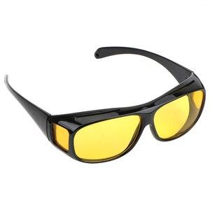 نظارات حماية من الأشعة فوق الاستقطاب سيارة القيادة نظارات للجنسين HD الرؤية الشمس نظارات للرؤية الليلية نظارات