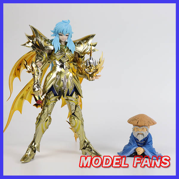 MODEL FANS INSTOCK chuanshen cs Saint Seiya sog soul of god EX Pisces Aphrodite action figure Cloth Myth Metal Armor-in Action & Toy Figures from Toys & Hobbies