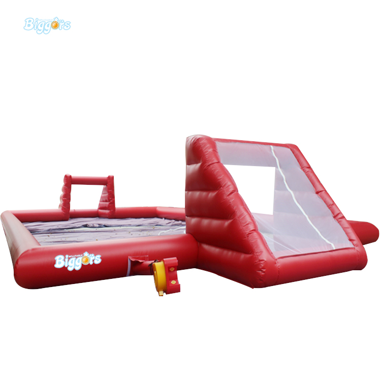 Inflatable Biggors Slip-N-Slide Soapy Soccer Outdoor inflatable water football games For Sale free shipping ce certificated inflatable football pitch inflatable soccer court soapy stadium for sale
