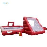 Inflatable Biggors Slip N Slide Soapy Soccer Outdoor Inflatable Water Football Games For Sale Kids Gift Fun