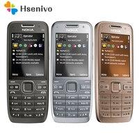 E52 Original Nokia E52 WIFI GPS JAVA 3G Unlocked Mobile Phone handset russian keyboard phone refurbished