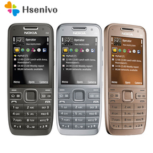 Refurbished E52 Original Nokia E52 WIFI GPS JAVA 3G Unlocked Mobile Phone handset russian keyboard phone Free Shipping