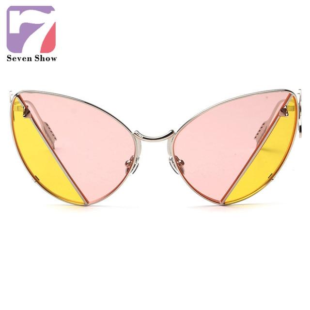 2016 Steampunk Luxury Sunglasses Women Brand Designer Sun Glasses fashion Glasses Vintage Rimless Sunglass Lunettes De Soleil