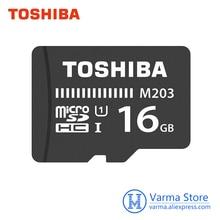 Toshiba UHS I 16 M203 cartão tf micro SD cartão de memória GB U1 Class10 FullHD microSDHC cartão de memória flash microSD
