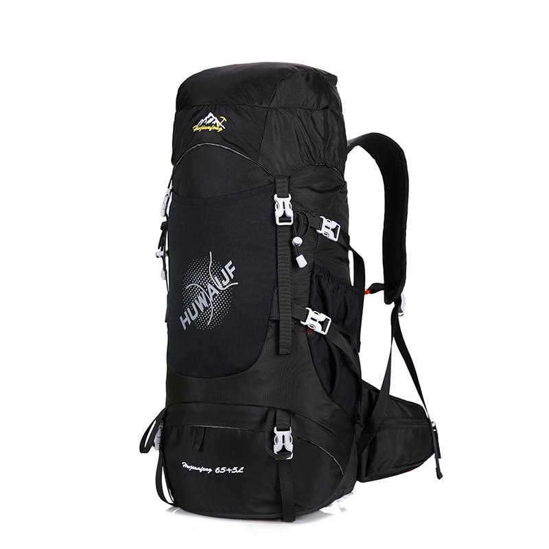 Hiking Backpack Travel Daypack Outdoor Sport Waterproof Backpack Camp Pack Trekk nylon Rucksack Men Women 70L mochila