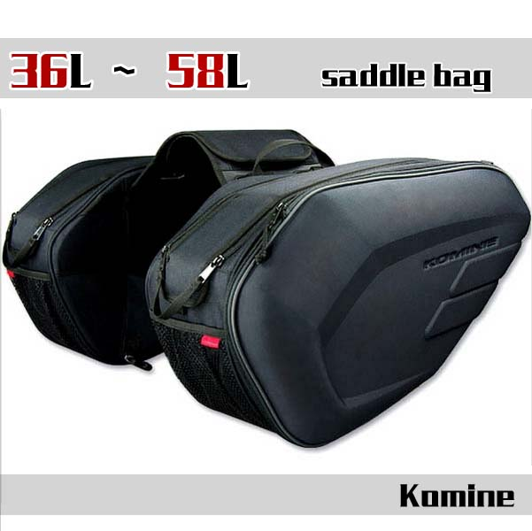 2016 NEW arrival  Komine motorcycle tail bag luggage suitcase around motorcycle Rear seat bag saddle bag with waterproof cover кофры komine