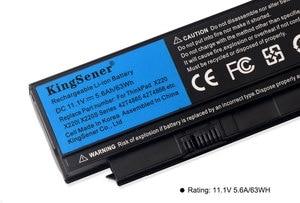 Image 4 - KingSener كوريا خلية محمول بطارية لأجهزة لينوفو ثينك باد X220 X220I X220S 42T4899 42T4900 42T4942 42T4872 42T4865 42T4866