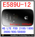 Unlocked Huawei E589 E589u-12 LTE 4g wifi router Hotspot 4g lte mifi dongle FDD 2100/1800/2600/900/DD800 pk e8278 e8372 e5577