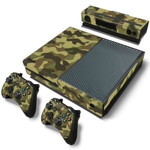 Image 2 - Camuflaje Game Cosole pegatinas de piel Calcomanía para Xbox One Console piel de vinilo + 2 uds pegatinas del controlador