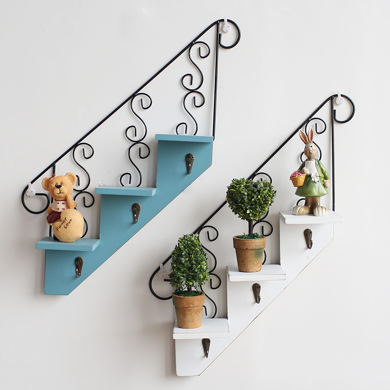 Creative Handmade Stairs Wall Shelf Holder Partition Mural Living   Partition Of Stairs In Living Room   Lobby   Storage   Open Plan   Divider   Wood Paneling