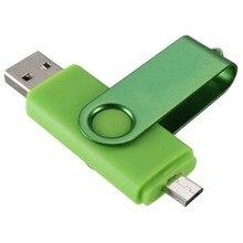 Micro USB Flash Drive Memory Stick OTG for Mobile Phone PC Green