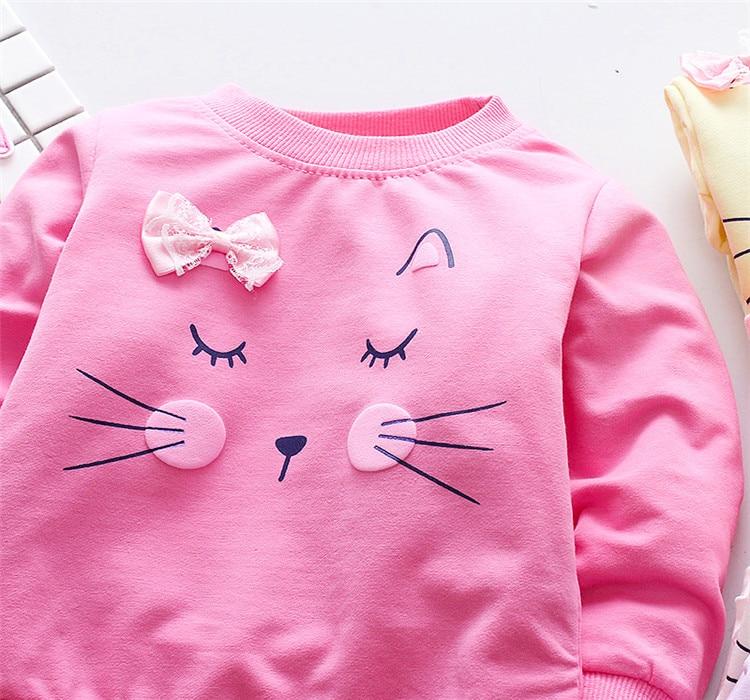 Baby's Cat Printed Sweatshirt 19 » Pets Impress