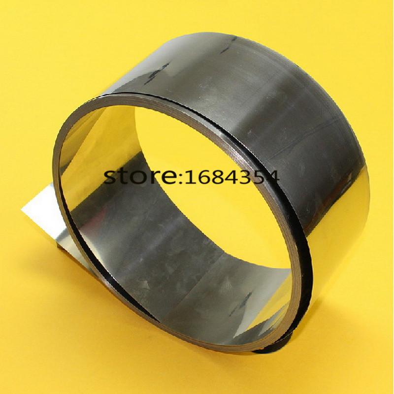 0 35mm Thickness 50mm Width Stainless Steel Sheet Plate Leaf Stainless Steel Foil The Thin Tape
