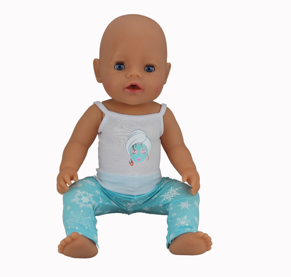 New Sport set Doll Clothes Wear fit 43cm Baby Born zapf, Children best Birthday Gift(only sell clothes)
