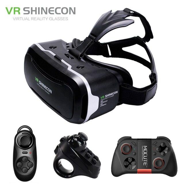 Papelão Óculos 3D Virtual Googles Shinecon VR 2.0 ii de Realidade Virtual 3  d VR Headset 2a066bac65