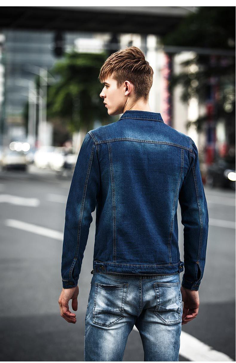 b7470283305 2015 New Arrival Spring Autumn Style Men s Denim Jacket Coats ...