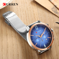 CURREN Luxury Brand Men Sport Watches Men's Digital Quartz Clock Stainless Steel Waterproof Wrist Watch relogio masculino 8313 5