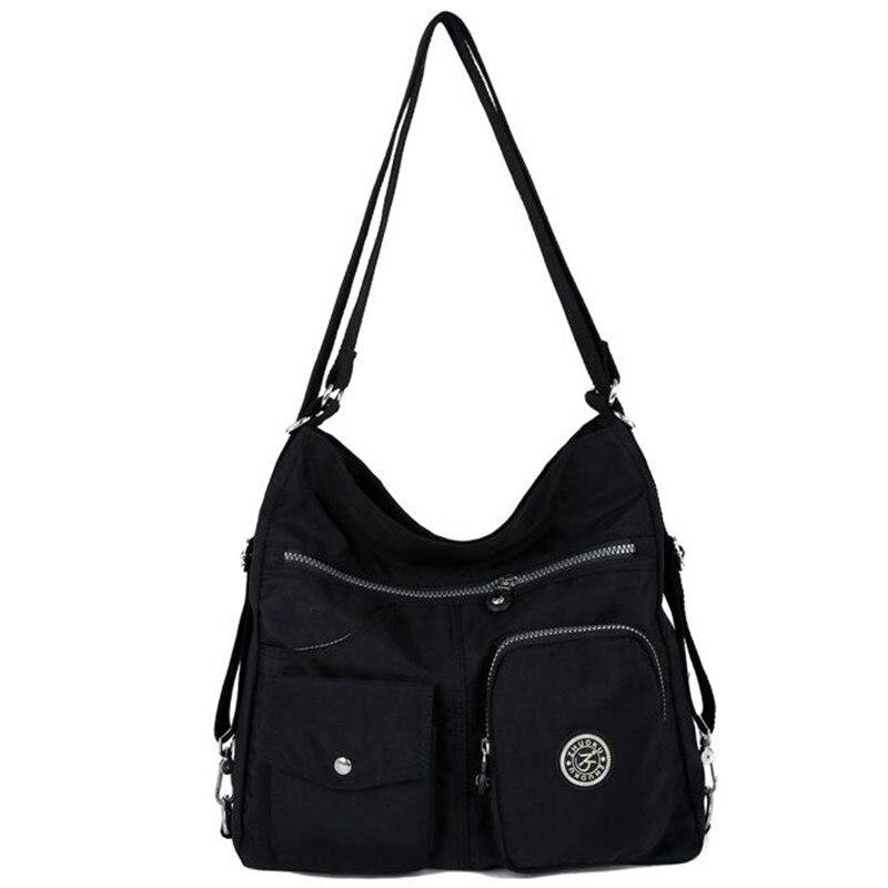 New Women Messenger Bag Double Shoulder Bag Designer Handbags High Quality Nylon Female Crossbody Bags Bolsas Sac A Main