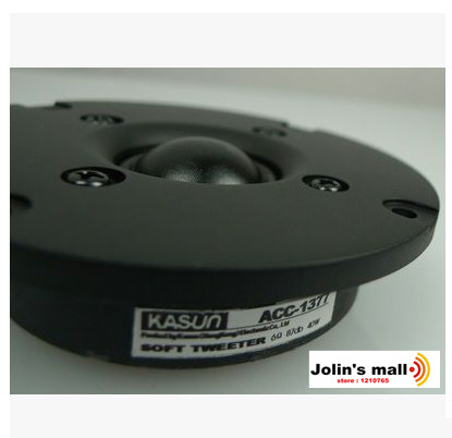Kasun Acc-1377 3 Inch 3 Silk Cone Ball Tweeter Diameter 80mm 6 Ohm 2pcs/lot Carefully Selected Materials Speaker Accessories Portable Audio & Video